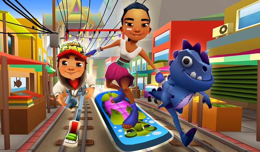 Subway Surfers Bangkok Game - Subway surfers game